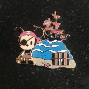 Disney   Mickey Pirate Pin